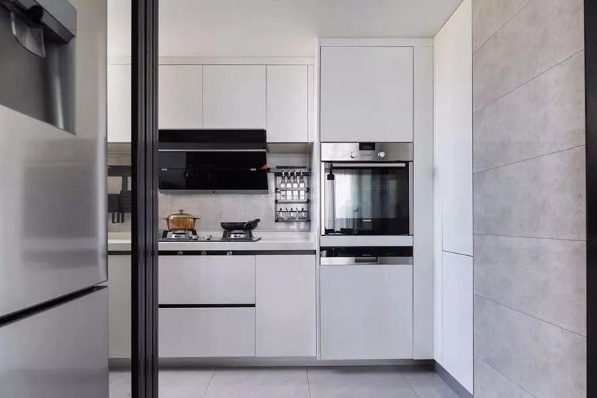 106平的复式大宅,以现代简洁为底,加入时尚的软装!