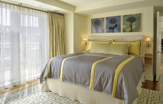 纯色窗帘不会选?记住这三种方案,怎么选都好看