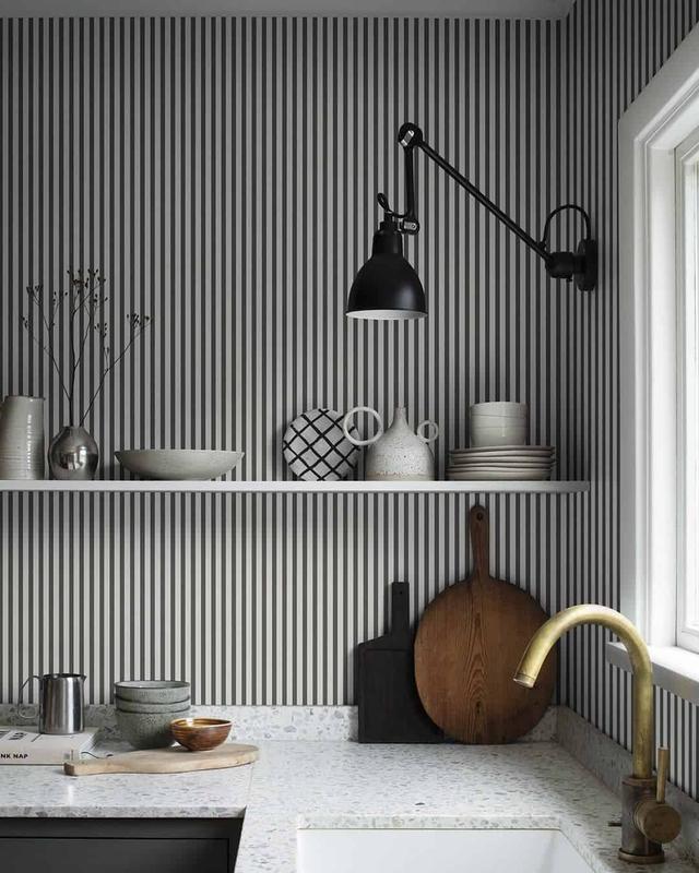 想要装出个性的家居空间,试试用这些图案墙纸来实现吧!