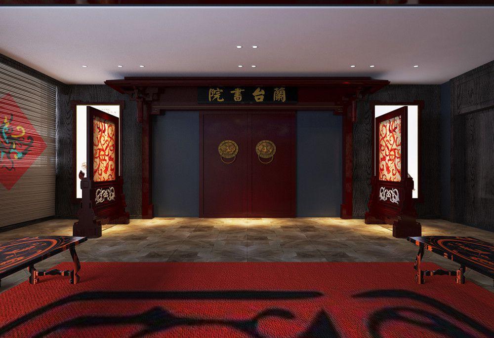 荊州裝修案例長江大學籣臺書院