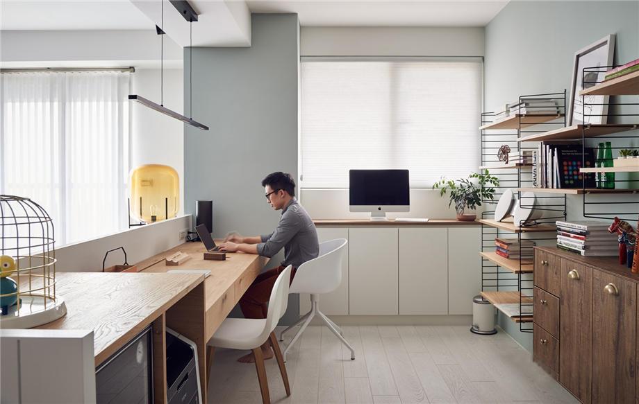 六安裝修案例94平方-駿景豪庭-現代