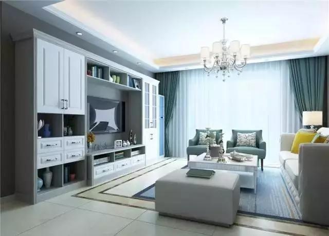 邻家装修网告诉你电视柜怎么做到既省空间又美观!