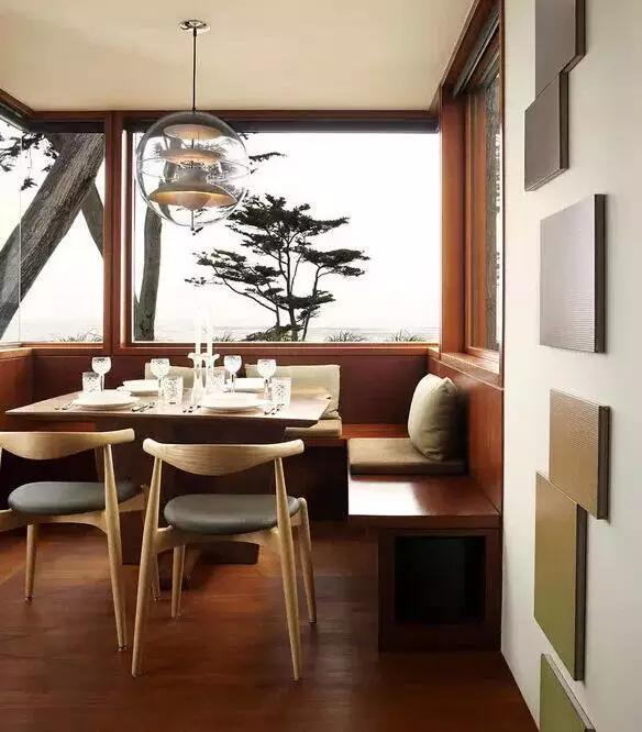 邻家装修网告诉你小户型的餐厅卡座设计