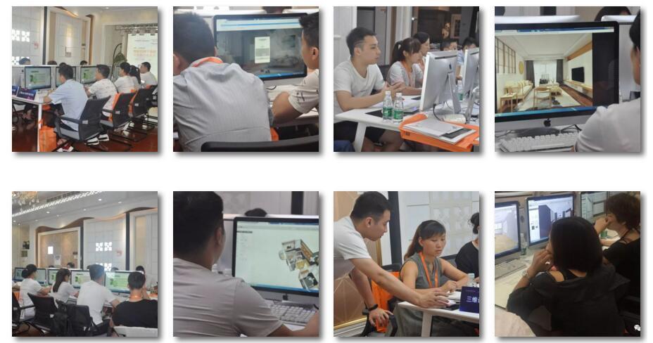 10月14/16日三维家西安站全模块专场培训开始了