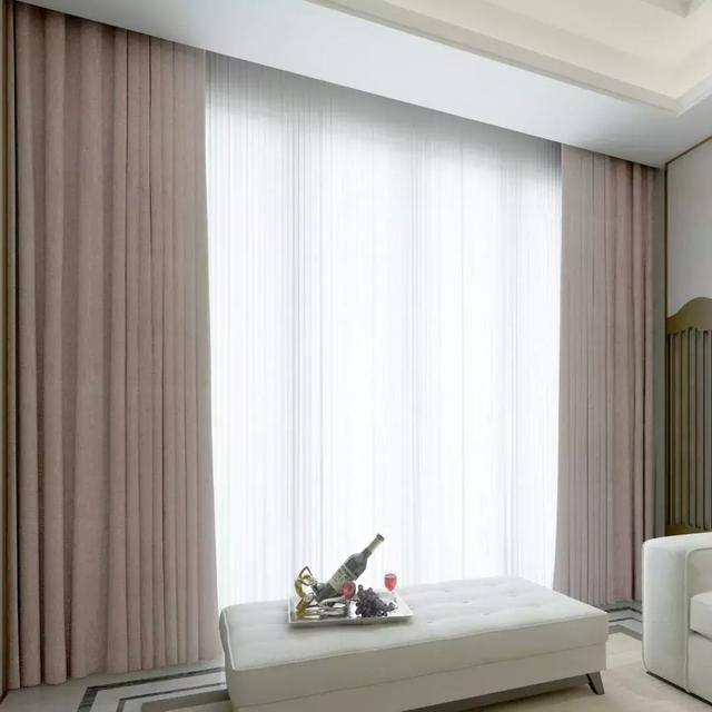 纯色窗帘,找准技巧这么搭配好好看!
