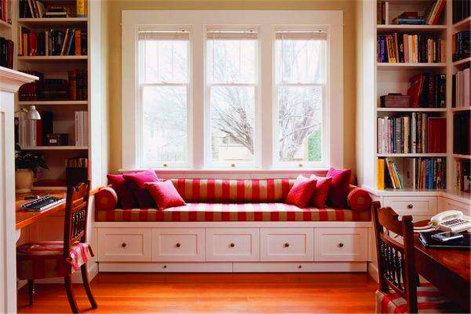 宜居空間裝飾分享客廳飄窗裝修知識