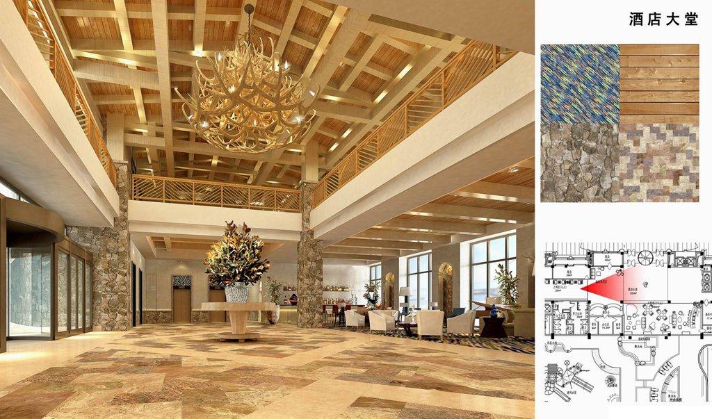 无锡装修案例丹东度假酒店