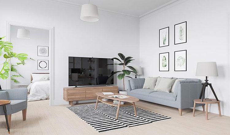 平宜家风格清新两居室图片欣赏