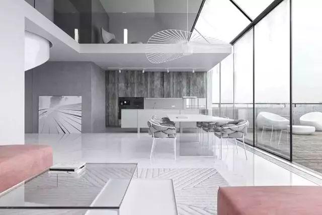 挑空客厅设计,款款高端大气,真让人羡慕!