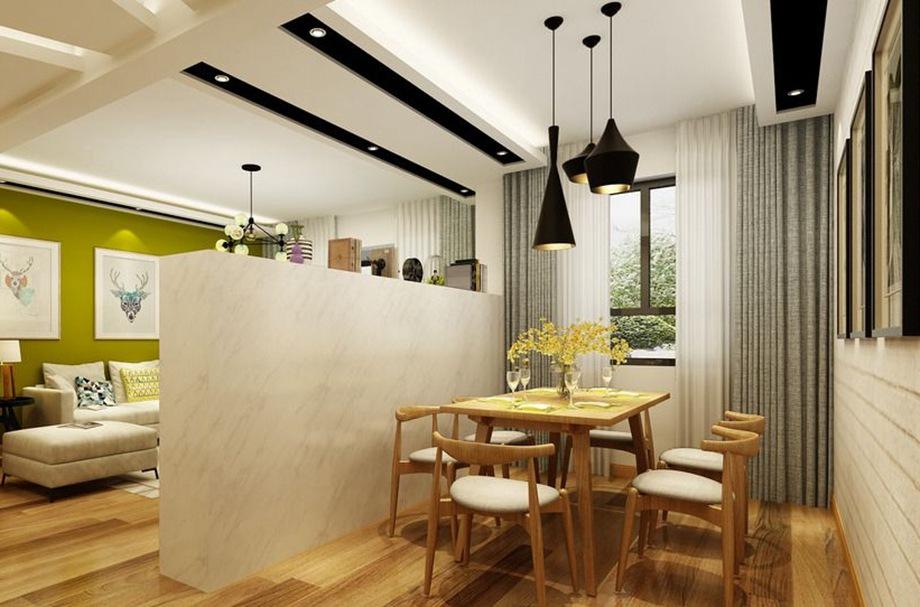 餐厅比较小该怎么装修?