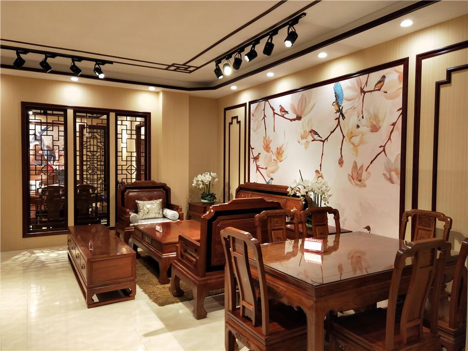 泰森红木家具馆 ,新中式与古典中式的融合与碰撞