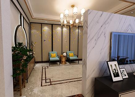 龙泽府邸新中式全景图