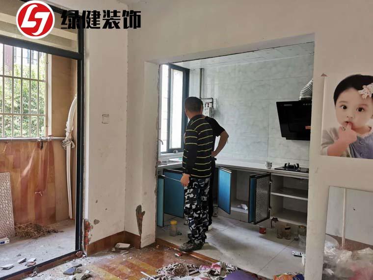 【六安绿健装饰】恭祝香榭花城杨律师新居开工大吉