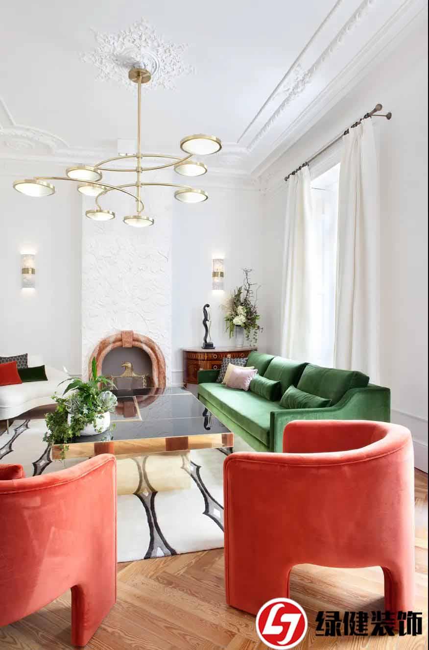 【六安绿健装饰】——为您的客厅选择合适吊灯的9个技巧