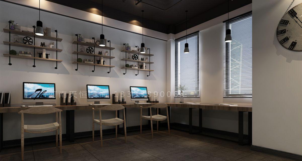 恒生科技园    洛阳天恒装饰设计施工