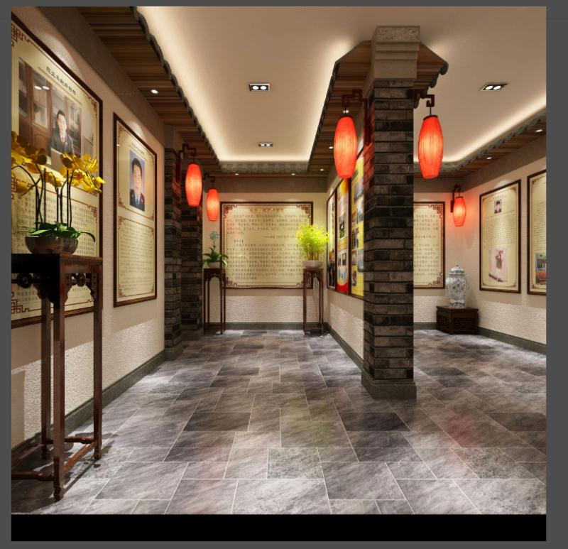 文风馆装修案例    天恒装饰设计施工