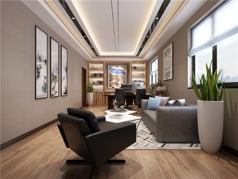 恒生科技园办公室装修案例   天恒装饰设计施工