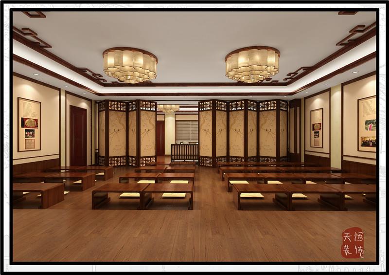 中医馆中式装修案例