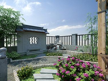 新安县恒邦桂园-中式风格