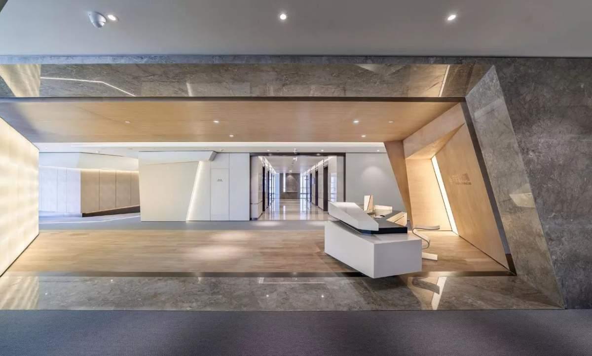 现代简洁办公空间