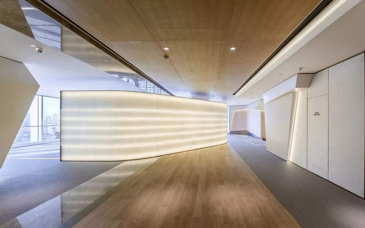 現代簡潔辦公空間