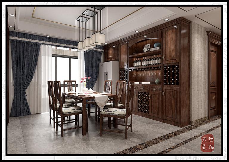 保利香槟国际新中式风格