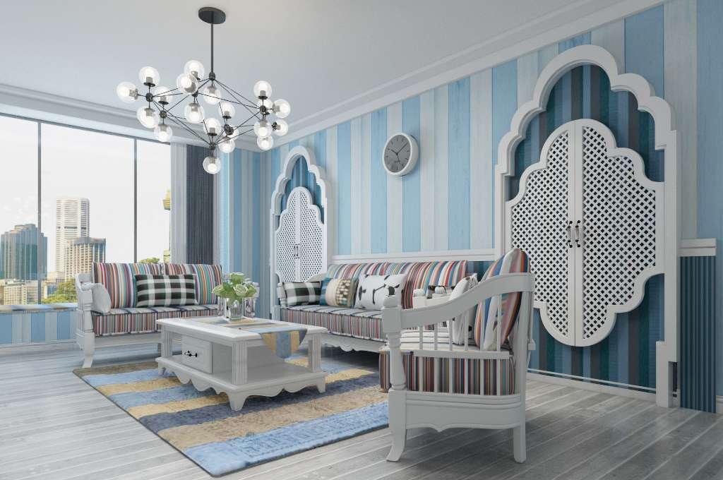 地中海風格—客廳