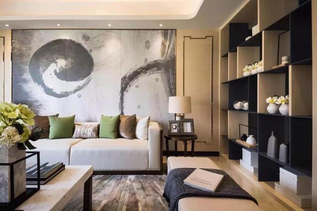 客厅,还是新中式的最美!这20款不外传的新中式效果图,快快收藏