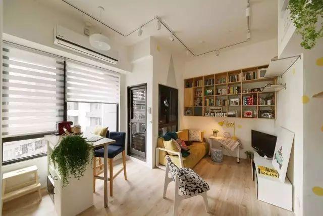【老房翻新案例】户型再小都不是问题,这个49m²都能装出两室一厅!