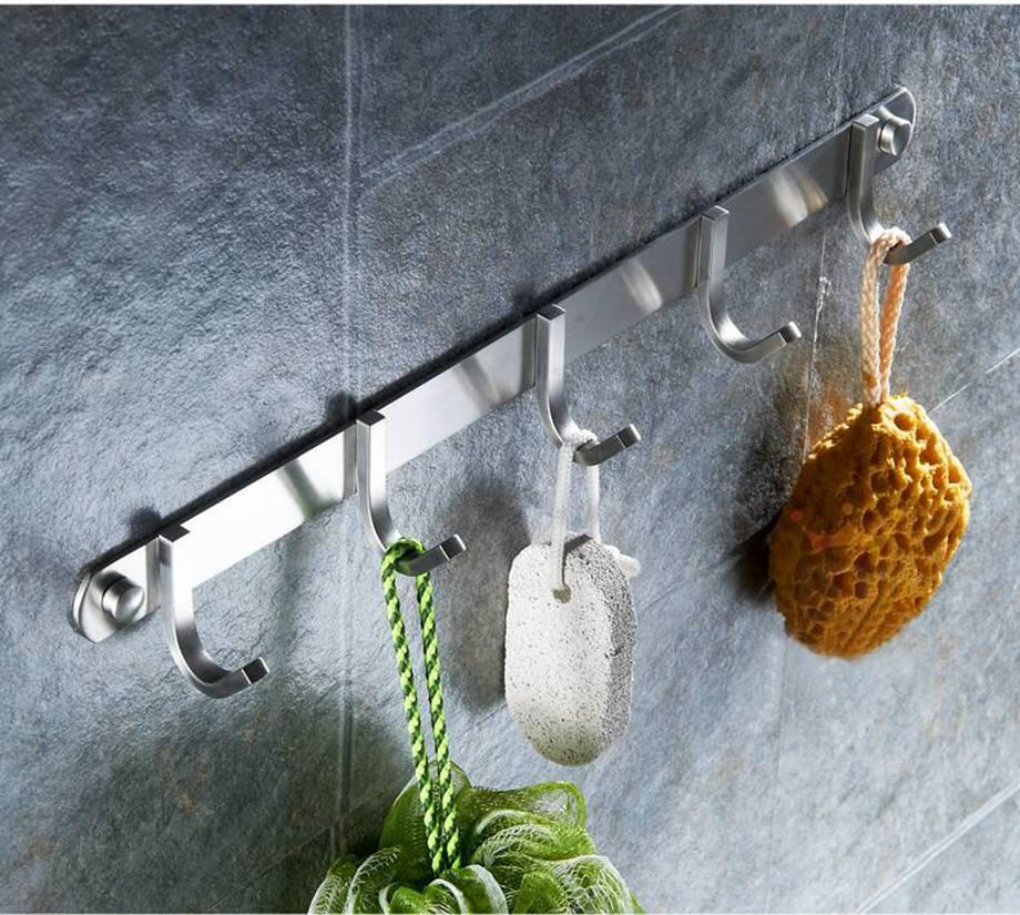 卫浴五金安装到位,让卫生间的功能更强大!