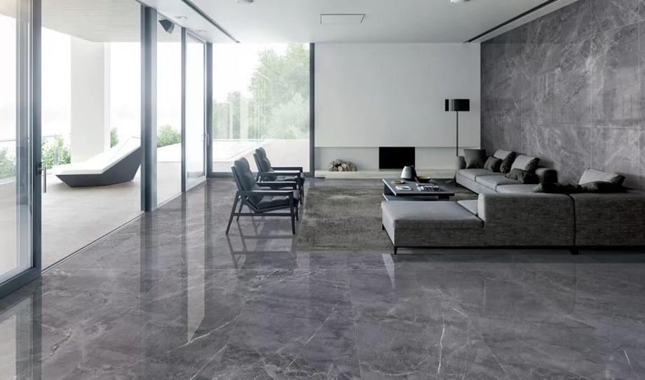 谁说地面只能贴瓷砖、地板?这些材料当下也很流行!