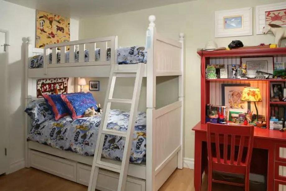 给孩子准备一个漂亮的儿童房,别担心面积小
