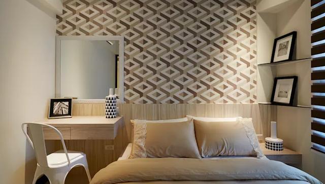 装修小巧思,小卧室也能有美好环境