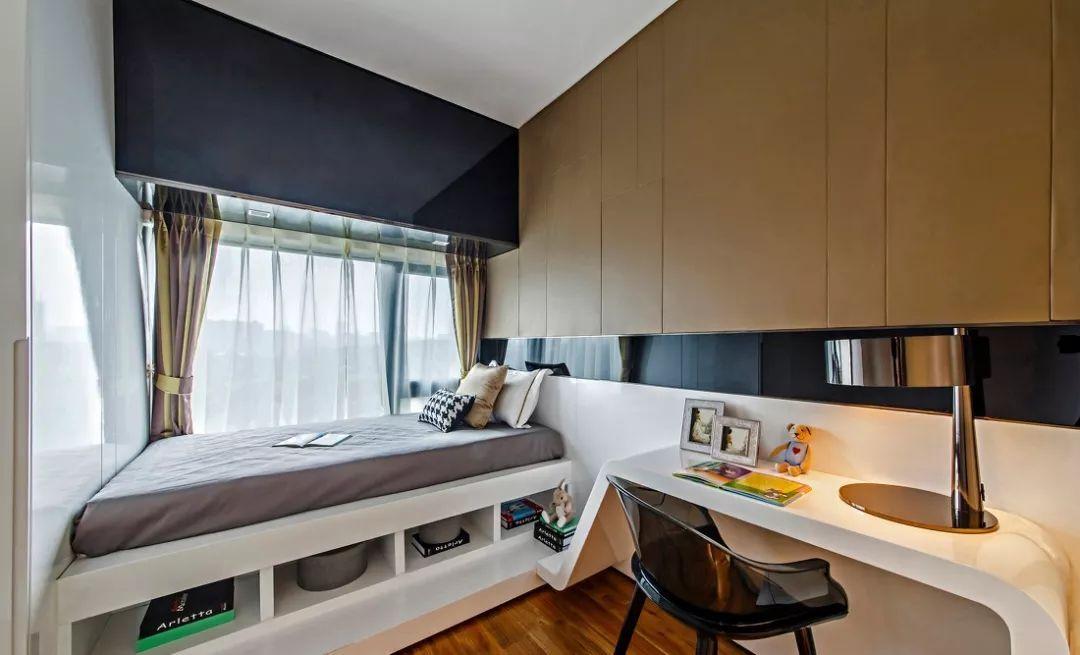 卧室这样设计,5㎡秒变10㎡