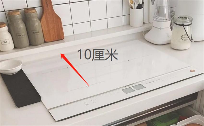 厨房台面边缘的处理 抬高10cm可带来这3大好处