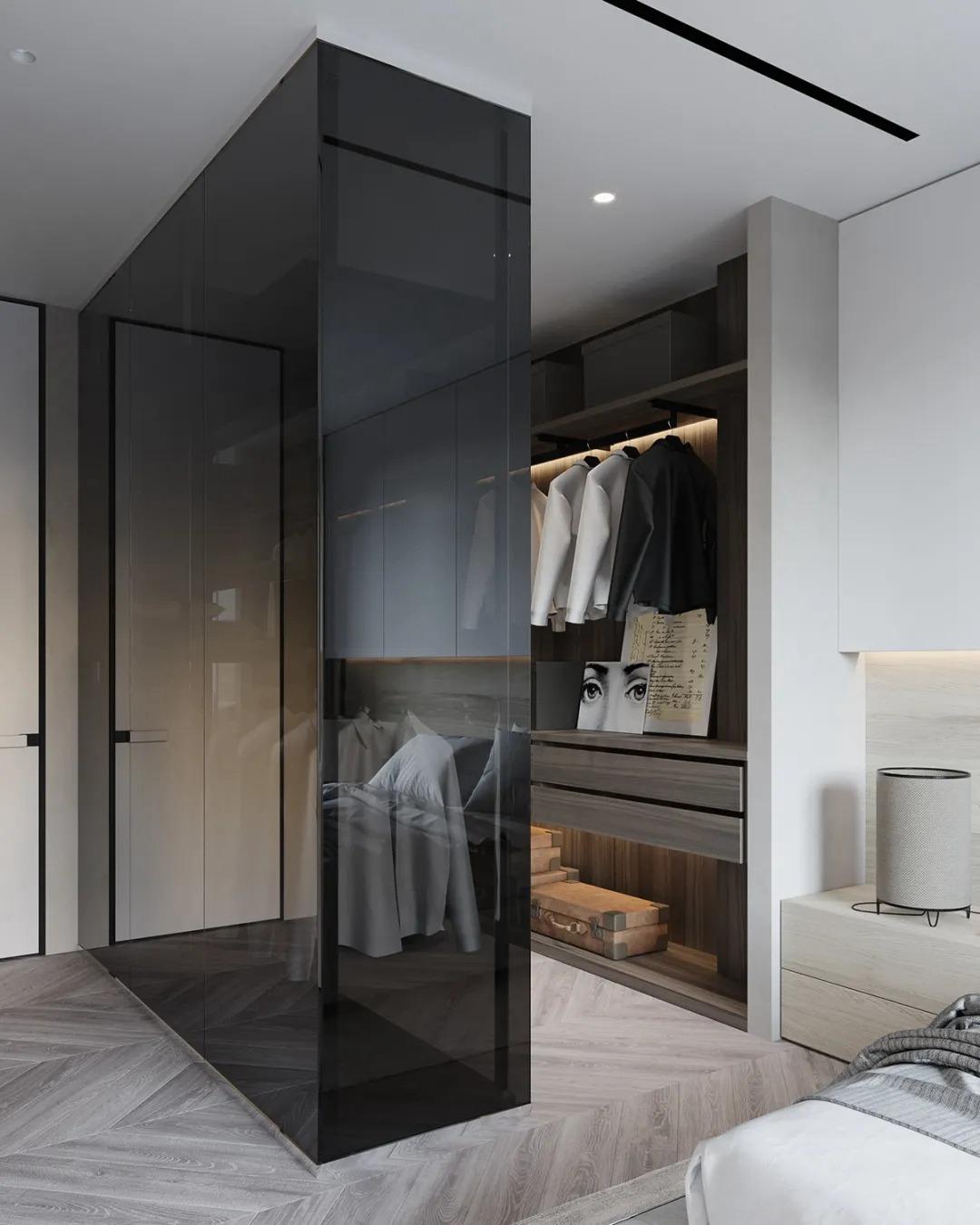 别瞎买衣柜了,2021年卧室流行这样装,赞爆了!