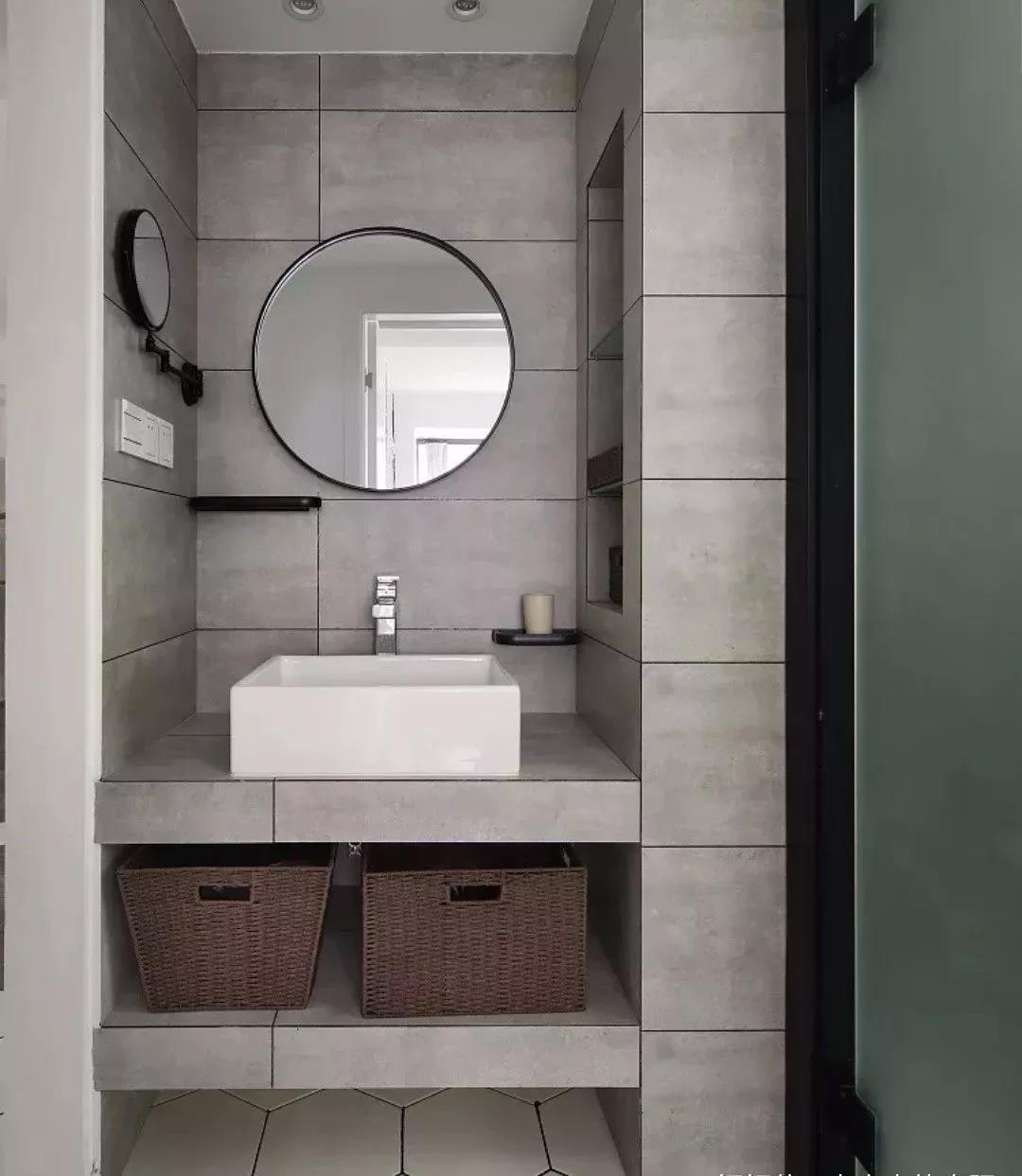面积不大的卫生间,收纳可以这样做,壁龛是个好东西