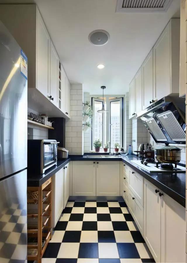 厨房不仅仅要实用,独特的设计,让它变得更加时尚