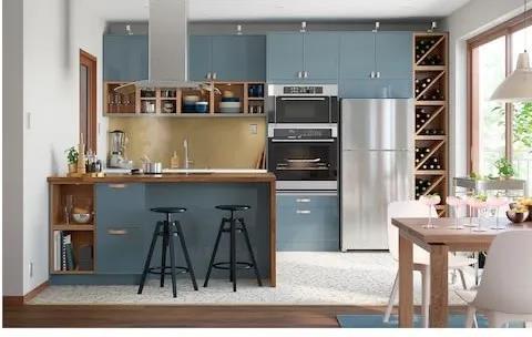 别让小户型厨房限制了你的美好生活,这样的布局设计,再也不怕拥挤了