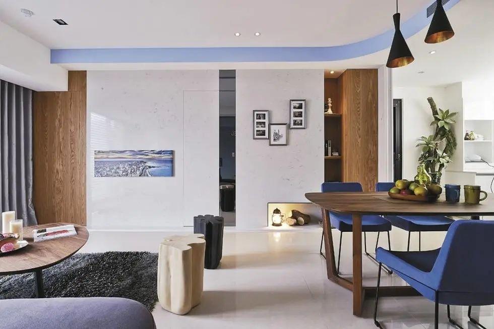 客厅的6种吊顶设计,修饰空间,提升格调!