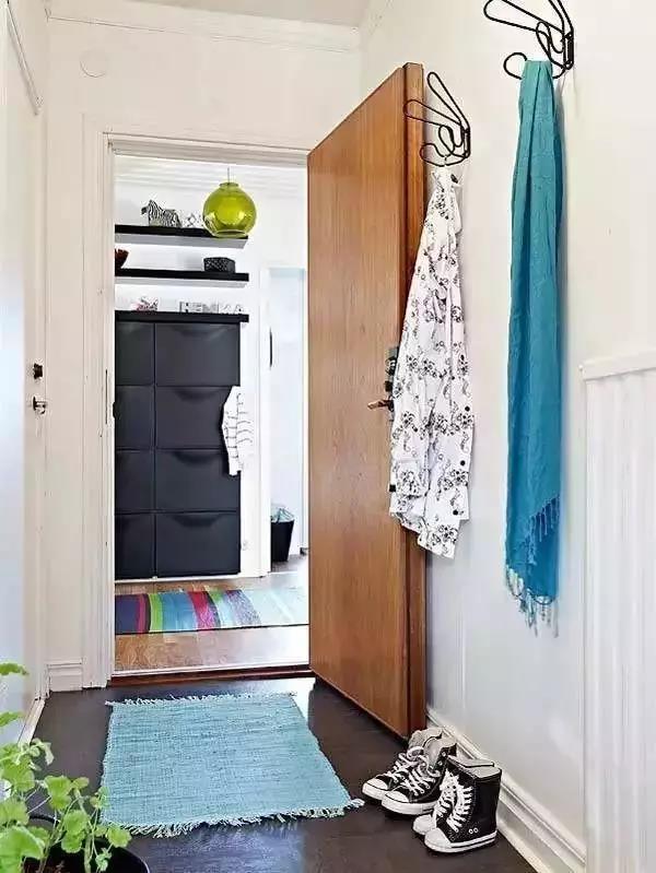 玄关除了装鞋柜没别的可以选择了吗?其实这样装才最实用!