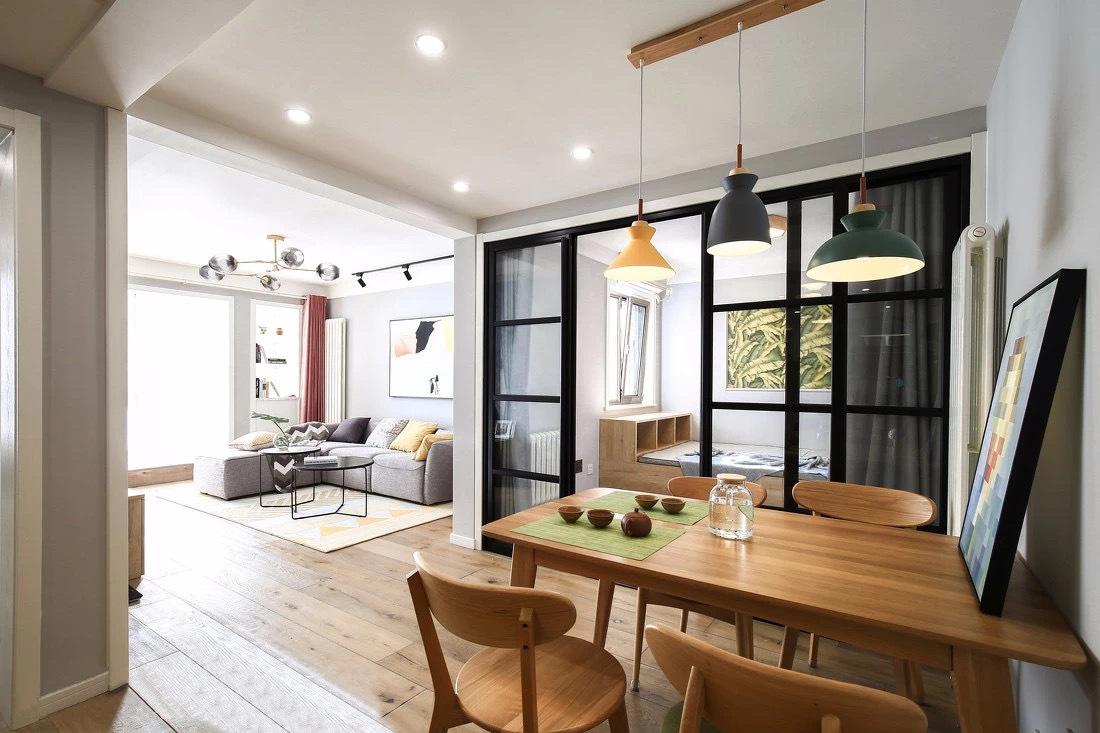 宜宾市翠屏区-半岛大院三居室北欧风格设计-家装案例