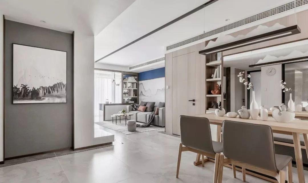 宜宾市翠屏区-华彩成三居室新中式风格-家装案例