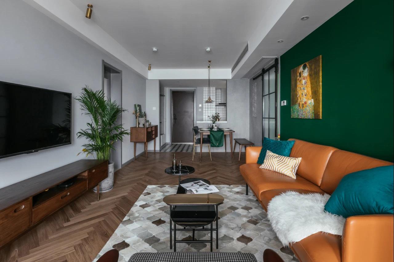 宜宾市翠屏区-华彩城三居室轻奢-家装案例