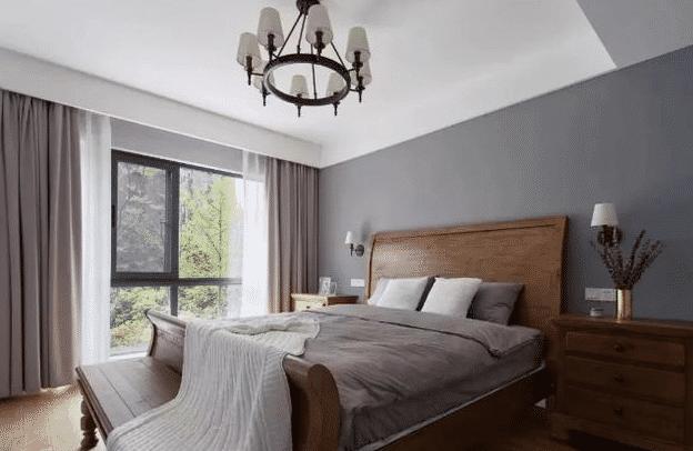 臥室背景墻刷什么顏色好看?設計師說要這么選!
