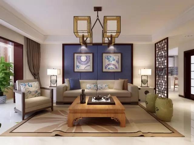 中式风格越来越备受宠爱,用多种元素设计体现中国热!