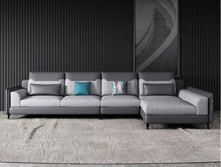 楚雄家具礼包·现代 全屋家具 18件 象牙白系列/含沙发,茶几电视柜,餐桌餐椅,床*3,床头柜*6,书桌