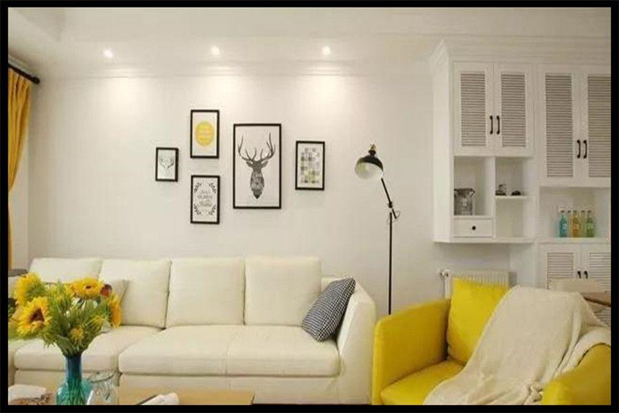 南充裝修案例110m2三室溫暖北歐風裝修、滿滿的甜蜜感