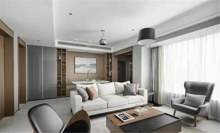 南充裝修案例灰色+白色的極簡美宅,年輕人的最愛!