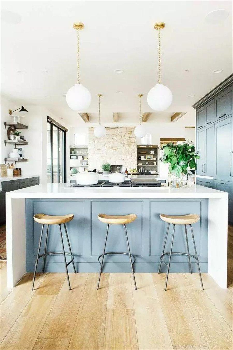 南充裝修案例30個廚房吧臺設計方案